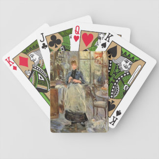 """Monisot's """"The Dining Room"""" playing cards"""