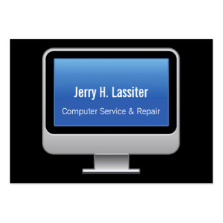 Monitor Card Large Business Card