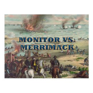Monitor de ABH contra Merrimac Tarjeta Postal