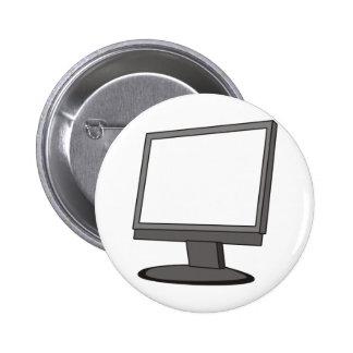 Monitor de computadora pin redondo de 2 pulgadas