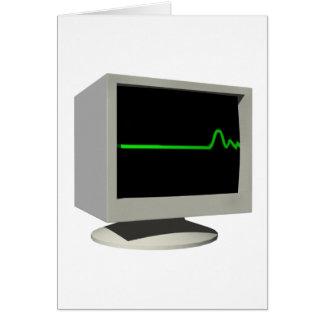 Monitor de Flatline Tarjeton