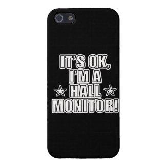 Monitor de Pasillo iPhone 5 Carcasa