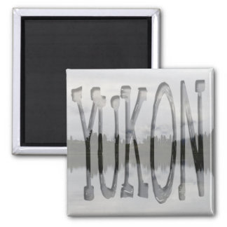 Monitor del latido del corazón del Yukón; Recuerdo Imán Cuadrado