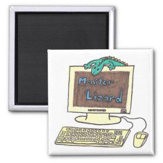Monitor Lizard Magnet