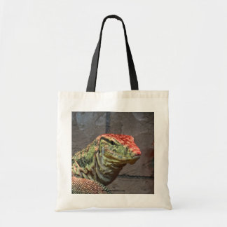 Monitor Lizard Portrait Tote Bag