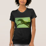 monitor verde del árbol camiseta