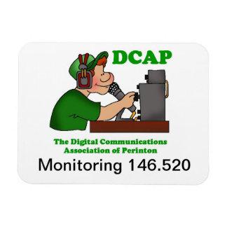 Monitoring 146.520 Premium Flexi Magnet (6 X 4)
