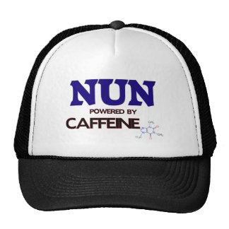 Monja accionada por el cafeína gorro