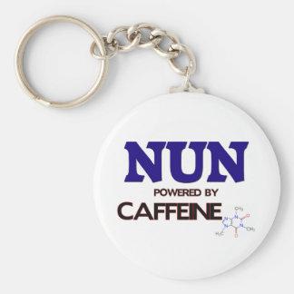 Monja accionada por el cafeína llavero