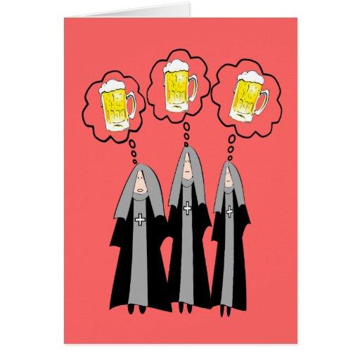 Monja católica Gifts~~Hilarious Felicitacion