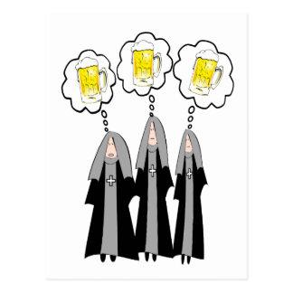 Monja católica Gifts~~Hilarious Postales