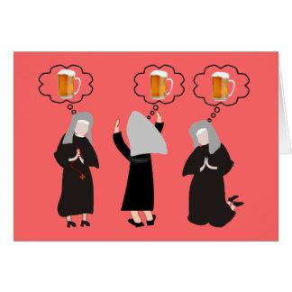 Monja católica Gifts~~Hilarious Tarjeta De Felicitación