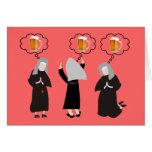 Monja católica Gifts~~Hilarious Tarjeton