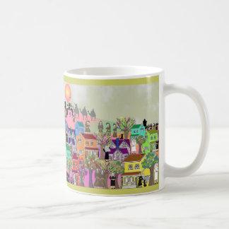 Monja católica y regalos católicos del arte del mo tazas