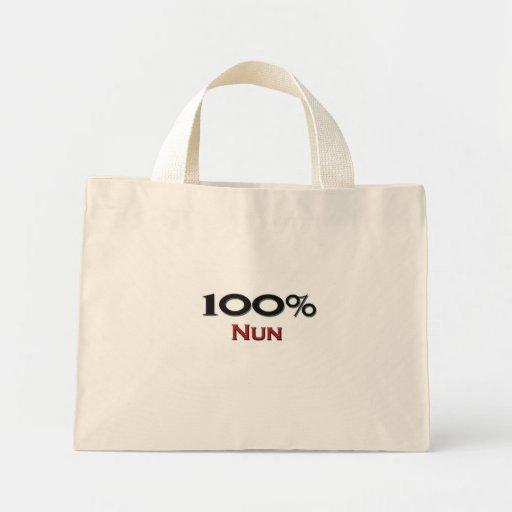 Monja del 100 por ciento bolsa