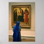 Monja, pintura, National Gallery del arte Poster