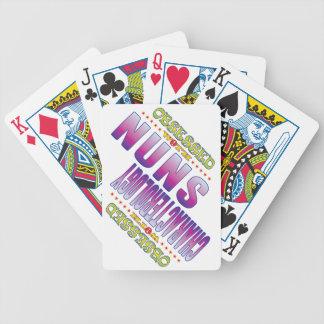 Monjas 2 obsesionadas cartas de juego
