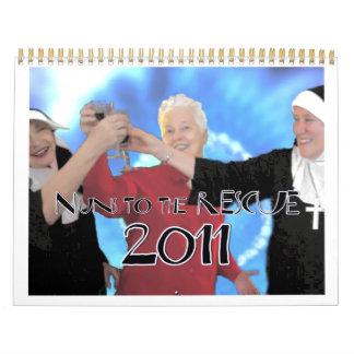 ¡Monjas al RESCATE! Calendario (que comienza en