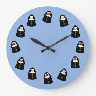 Monjas lindas relojes de pared