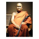 Monje budista de Luang Poo Cha Subhaddho… Postal