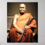 Monje budista de Luang Poo Cha Subhaddho… Posters