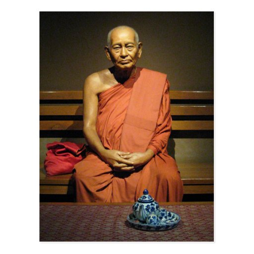 Monje budista de Phra Dhammayanmuni… Postal