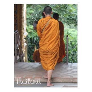 Monje budista Tailandia Postales