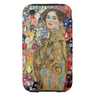 Monje de Klimt Ria Carcasa Though Para iPhone 3