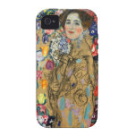 Monje de Klimt Ria Case-Mate iPhone 4 Fundas