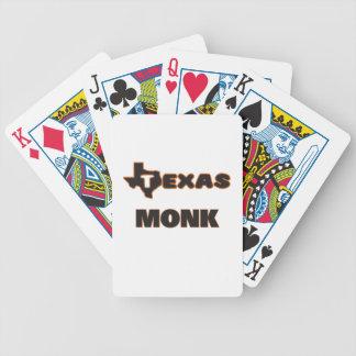 Monje de Tejas Baraja Cartas De Poker