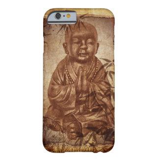 Monje del Buddhism - diseño de bambú Funda Barely There iPhone 6