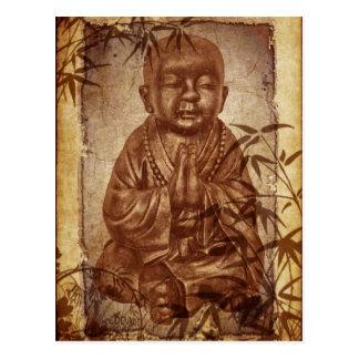 Monje del Buddhism Tarjeta Postal