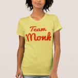 Monje del equipo camisetas