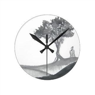 Monje del Taoist que vaga Relojes
