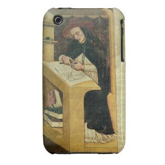 Monje dominicano en su escritorio, del ciclo de Case-Mate iPhone 3 fundas