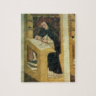 Monje dominicano en su escritorio, del ciclo de 'p puzzle