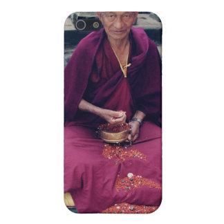 Monje en caso del iPhone de Bodh Gaya iPhone 5 Funda