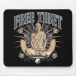 Monje libre de Tíbet Alfombrilla De Raton