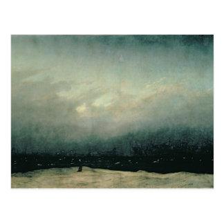 Monje por el mar, 1809 postales