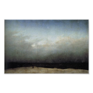 Monje por el mar póster