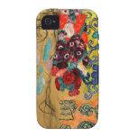 Monje v2 de Klimt Ria iPhone 4 Carcasas