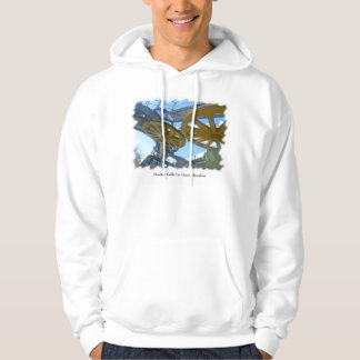 Monjuic Cable Car Gears, Aerial Tramway, Barcelona Hoodie
