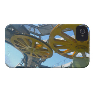 Monjuic Cable Car Gears, Aerial Tramway, Barcelona iPhone 4 Case-Mate Case