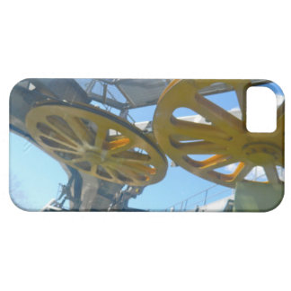 Monjuic Cable Car Gears, Aerial Tramway, Barcelona iPhone SE/5/5s Case