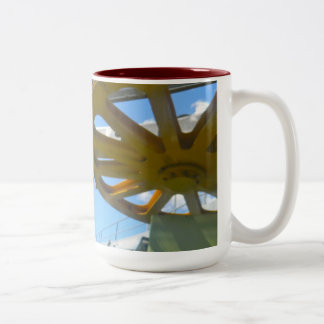 Monjuic Cable Car Gears, Aerial Tramway, Barcelona Mugs