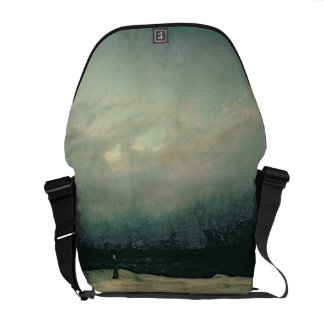 Monk by sea, 1809 courier bag