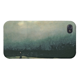 Monk by sea, 1809 cover for iPhone 4