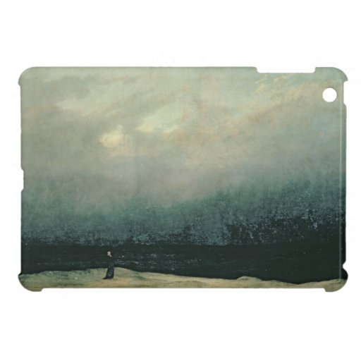 Monk by sea, 1809 iPad mini case