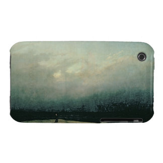 Monk by sea, 1809 iPhone 3 case