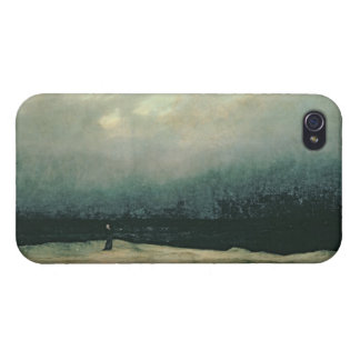 Monk by sea, 1809 iPhone 4/4S cases